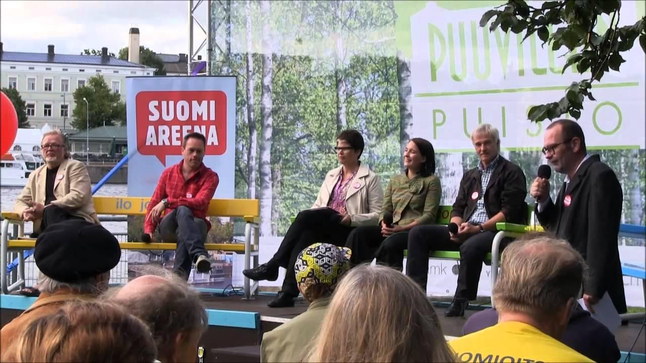 SuomiAreena tuo Pori Jazzeille jopa 1000 puhujaa